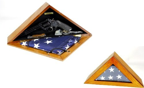 HandGun Concealment Flag Box Quick Access
