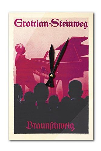 grotrian-steinweg-vintage-poster-artist-holwein-ludwig-germany-c-1934-acrylic-wall-clock