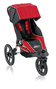 Baby Jogger Summit 360 Single Jogging Stroller, Red Black (Discontinued by Manufacturer)