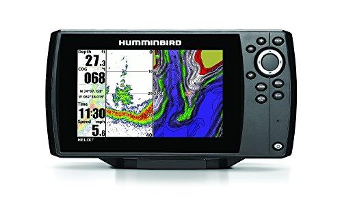 Humminbird 409820-1 Helix 7 Fishfinder/GPS with Dual Beam Plus Sonar
