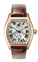 Cartier Tortue Perpetual Calendar Automatic 18 kt Rose Gold Mens Watch W1580045 by Cartier