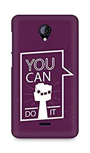 Amez You can Do It! Back Cover For Micromax Unite 2 A106