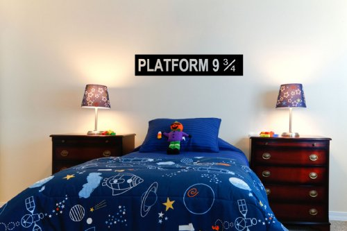 Platform 9 3/4 Harry Potter Childrens Wall Sticker Decal 60X10 (Colour) front-705325