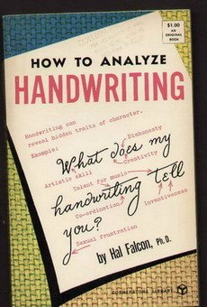 How to analyze handwriting, HAL FALCON