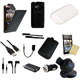 18 teiliges HTC ONE   M7 [Version 2013] Zubehör Set Pack Paket   18 Teile  