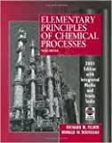 Elementary Principles of Chemical Processes 3rd Edition Special Edition Set