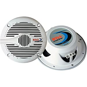 Boss Audio MR60W 6.5-Inch 2-Way Marine Speaker by BOSS