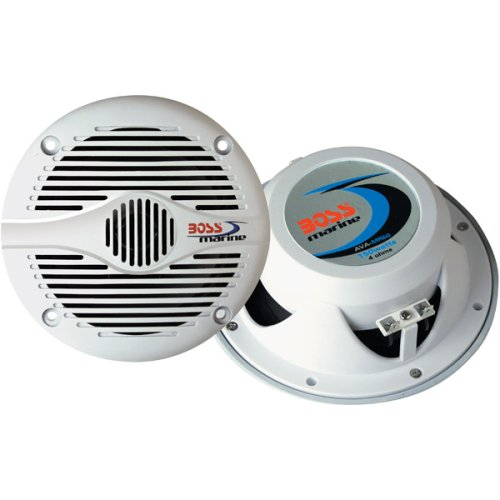 "Boss Audio Mr60W 200-Watt 2 Way Marine 6.5"" Coaxial Speaker"
