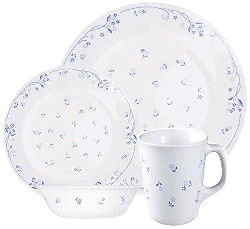 corelle-service-de-table-pour-4-personnes-16-pieces-en-verre-vitrelle-motif-provincial-bleu