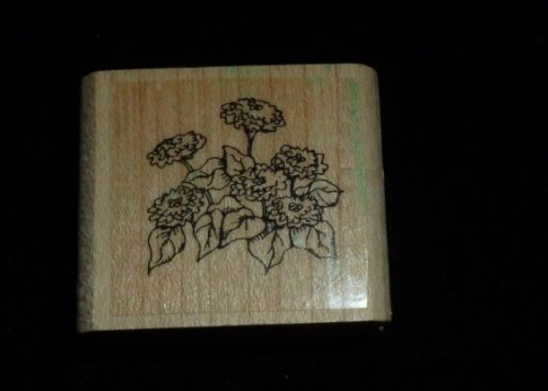 Small Patch Of Flowers Rubber Stamp