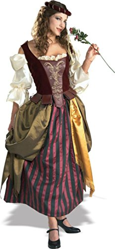 Rubies Womens Renaissance Maiden Theme Party Halloween Fancy Costume