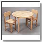 wood table and chairs sets
