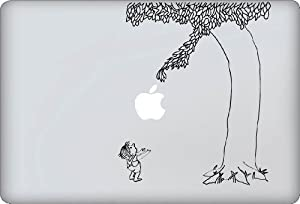 Giving Tree Decal - Vinyl Macbook / Laptop Decal Sticker Graphic from Vinyl