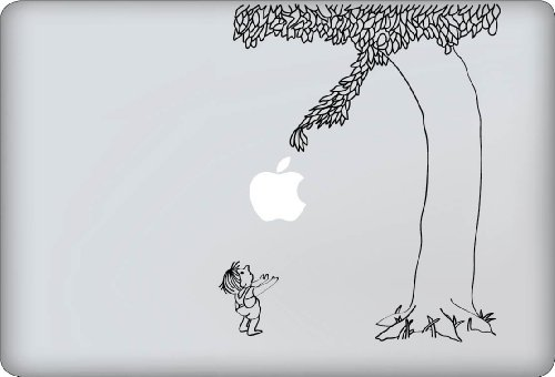 Lowest Prices! Giving Tree Decal - Vinyl Macbook / Laptop Decal Sticker Graphic