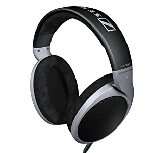 Sennheiser HD555 Professional Headphones with Sound Channeling