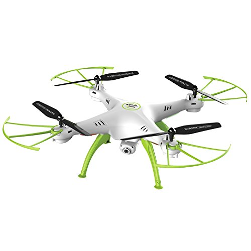 Cheerwing Syma X5HW-I Wifi FPV Drone with HD Camera Live Video Altitude Hold Function 2.4Ghz 4CH RC Quadcopter White