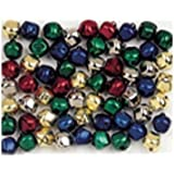 Multi-Colored Jingle Bells 72 pcs X 15mm