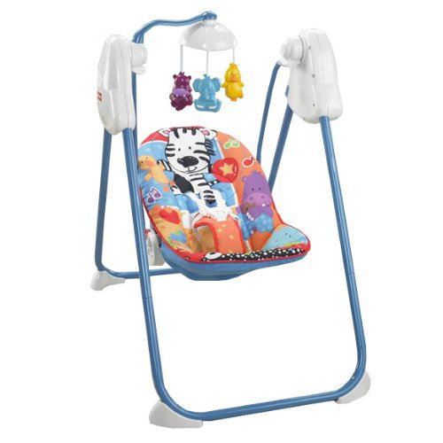 Fisher-Price Adorable Animals Fold Flat Swing