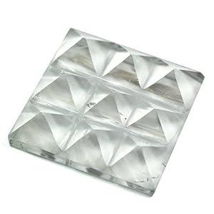 "Lemurian 9 Pyramid Charging Plate (India) (3/4"" - 1"") - 1pc."