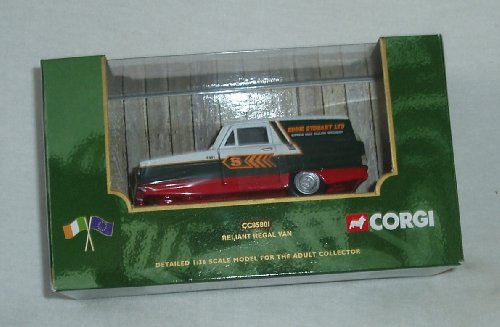 Corgi Eddie Stobart Reliant Regal Van CC85801 Made By Corgi in2001 The scale is 1/36