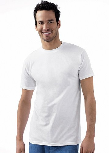 Hanes Classics Men's Classics 6-Pack Crew Neck T-Shirt Value Pack