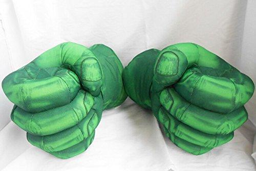 スーパーヒーロー超人 ハルク風 スマッシュ 手 セットコスプレプレイ 手袋 緑