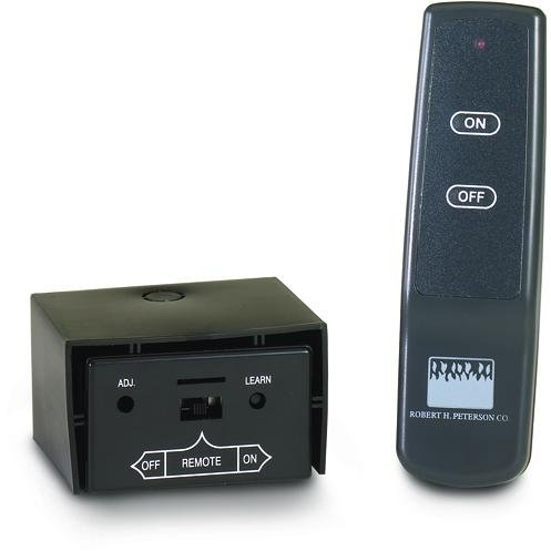 Peterson Gas Logs Basic On/Off Remote Receiver/Transmitter Set For -10,-11,-12 & -01 Pilot Kits Only (Gas Log Switch compare prices)