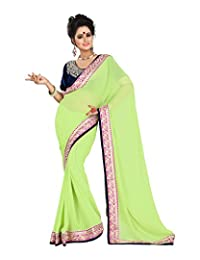 Atmiya Fashion Women's Georgette Saree With Blouse Piece - B00WEMULJC