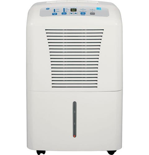 GE ADER65LN 65 Pint Capacity Dehumidifier, R-410A Refrigerant, 17.5 Bucket Capacity, 3 Fan Speeds