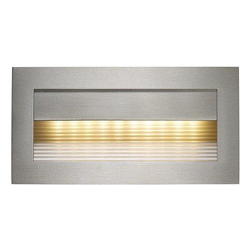 LED Einbauleuchte DOWNUNDER RCL 101 Edelstahl gebürstet/LED warmweiß EEK: A++
