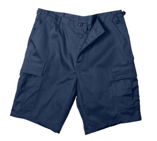 Rothco Bdu Short P/C - Navy Blue, Large