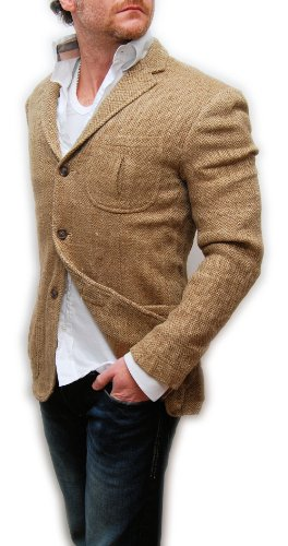 Polo Ralph Lauren Rugby Mens Tweed Blazer Sport Coat Linen