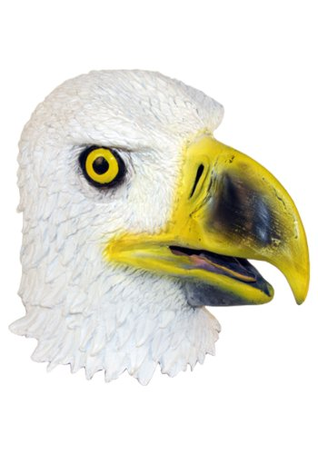 Latex Deluxe Eagle Costume Mask Halloween Costume By Crazy Halloween Mask