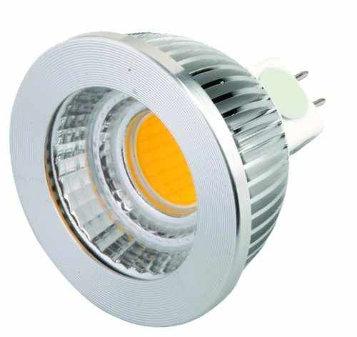 Superior 6W Led Mr16 High-Lumen, Gu 5.3 Base Dimmable 5000K, Fl60°
