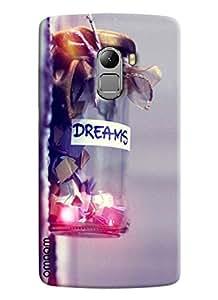 Omnam Dreams Love In Jar Printed Printed Designer Back Cover Case For Lenovo K4 Note