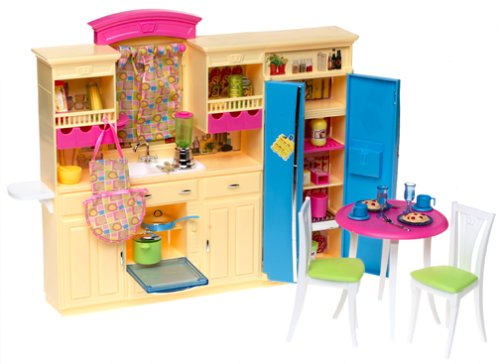 Barbie: Decor Collection Kitchen Playset - Buy Barbie: Decor Collection Kitchen Playset - Purchase Barbie: Decor Collection Kitchen Playset (none, Toys & Games,Categories,Pretend Play & Dress-up,Sets,Cooking & Housekeeping,Kitchen Playsets)