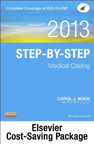 Medical Coding Online for Step-by-Step Medical Coding 2013 Edition (User Guide, Access Code, Textbook and Workbook package), 1e