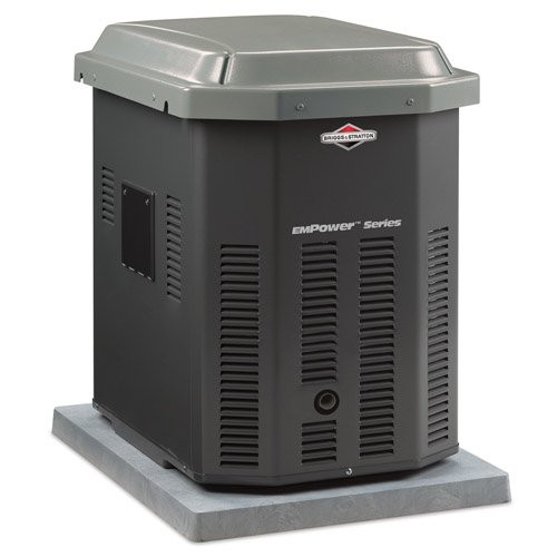 Briggs & Stratton 40301 7,000 Watt EmPower Natural Gas/Liquid Propane Powered Air Cooled Home Standby Generator (CARB Compliant) at Sears.com