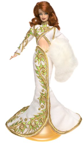 Barbie Radiant Redhead Barbie Doll Bob Mackie - Red Carpet Collection Limited Edition (2001)