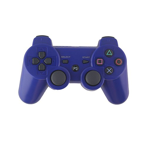Waltzmart Blue Wireless Bluetooth Controller Gamepad for Sony Play Station 3 PS3