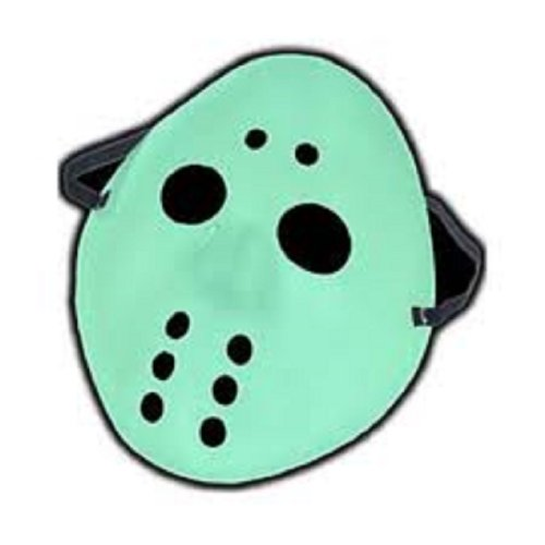 Glow In Dark Hockey Mask