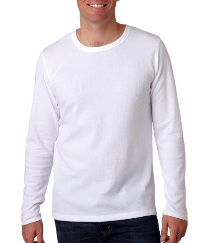 Next Level Mens Long-Sleeve Thermal N8101 - White_Xl