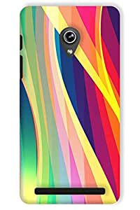 IndiaRangDe Hard Back Cover FOR Asus Zenfone 5 A501CG A500KL A500CG