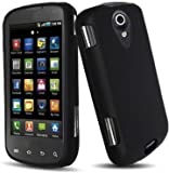 Black Rubberized Hard Case for Samsung Epic 4G (Galaxy S) D700