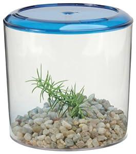Lee's Round Betta Keeper Fish Bowl for Aquarium, Clear