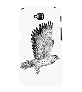 Eagle Drawing 3D Hard Polycarbonate Designer Back Case Cover for LG GPro Lite :: LG G Pro Lite Dual D686