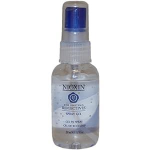Volumizing Reflectives Thickening Spray Gel By Nioxin for Unisex Spray Gel, 1.7 Ounce