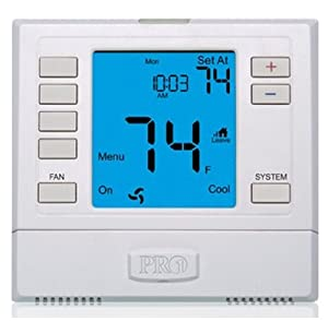 A AC air conditoner non-programmable Digital Thermostat PRO1 T755H 3H/2C NEW