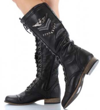 NEW Military Fashion Women&39s BLACK Combat BOOTS Review | Womens