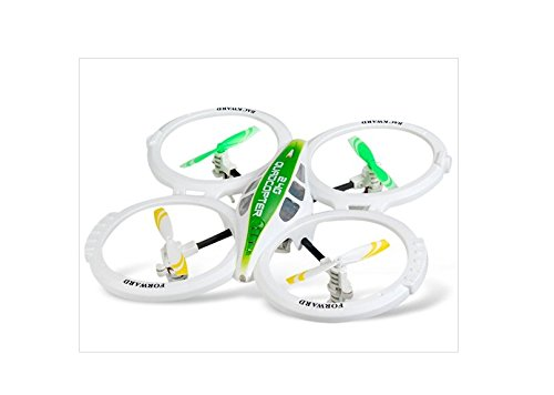 Lian Sheng Ls-124 2.4Ghz 4-Channel 6-Axis Remote Control Rc Quadcopter Aircraft (White)